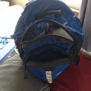 Evacuation backpack -- a starter kit at least.